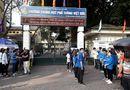 Tin tức - Hình ảnh ngày đầu thi lớp 10 tại Hà Nội: Nhiều thi sinh chạy hớt hải vì đi muộn