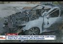 Tin tức - Samsung Galaxy phát nổ kinh hoàng, thiêu rụi nguyên chiếc ô tô