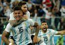 """Tin tức - Messi """"nổ súng"""", Argentina vượt qua """"khe cửa hẹp"""" tiến vào vòng 1/8"""