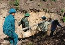 Tin tức - Nghệ An: Tiêu hủy bom Mỹ nặng gần 2 tạ còn sót lại sau chiến tranh