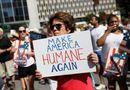 Tin tức - Mỹ: Hàng trăm nghìn người biểu tình phản đối chính sách nhập cư của Trump