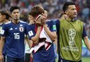 """Tin tức - World Cup 2018: HLV Nhật Bản gọi trận thua là """"thảm kịch"""", các cầu thủ """"chết lặng"""""""