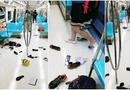 Video - Video: Hàng trăm hành khách trên tàu điện ngầm vứt đồ đạc bỏ chạy vì một chú chuột