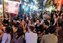 Tin tức - Chen chân uống bia đêm ở phố Tây Tạ Hiện những ngày nắng nóng