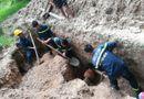 Tin tức - Cứu sống nam công nhân bị vùi lấp, kẹt dưới hố sâu 2,5 m