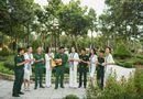 Tin tức - Dàn Hoa hậu, Á hậu tặng sách, biểu diễn văn nghệ cùng các chiến sĩ Tây Ninh