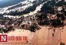 Tin tức - Quân đội Lào điều xe thiết giáp lội nước giải cứu nạn nhân mắc kẹt