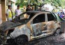 Tin tức - Ô tô của Đại úy CSGT bị đốt cháy ngùn ngụt ngay trước trụ sở công an