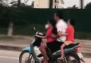 Tin tức - Video: Phẫn nộ người đàn ông để bé gái lái xe máy tốc độ cao trên đường