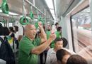 Tin tức - Lần đầu tiên người dân Hà Nội đi tàu điện Cát Linh – Hà Đông