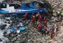Tin tức - Peru: Xe buýt lao xuống vực sâu, 60 người thương vong