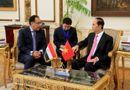 Tin tức - Chủ tịch nước Trần Đại Quang hội kiến Thủ tướng Ai Cập Madbouly