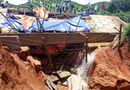 Tin tức - Hoà Bình: Lo vỡ đập hồ điều tiết nước, người dân hoang mang