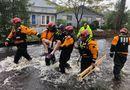 Tin thế giới - Nước Mỹ hoang tàn, đổ nát sau 8 giờ bị siêu bão Florence tàn phá