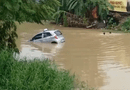 Tin tức - Video: Xách đồ cho khách mà quên kéo phanh tay, tài xế taxi sững người nhìn xe lao thẳng xuống sông