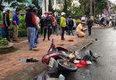 Tin tức - Xế hộp mất lái, gây tai nạn liên hoàn khiến 4 người nhập viện