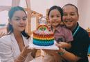 Chuyện làng sao - Phạm Quỳnh Anh - Quang Huy rạng rỡ hội ngộ trong sinh nhật con gái Bella