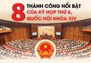 Tin tức - [Infographic]: 8 thành công nổi bật của kỳ họp thứ 6, Quốc hội khóa XIV
