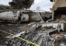 Tin thế giới - Hiện trường vụ tai nạn máy bay ở Iran khiến 15 người thiệt mạng