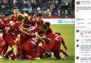 """Tin tức - Trào lưu mới của cầu thủ Việt Nam sau khi lọt tứ kết Asian Cup 2019: """"Anh sẽ về nhưng không phải hôm nay"""""""
