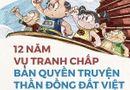 Tình huống pháp luật - Hôm nay (24/1), mở lại phiên tòa xử vụ tranh chấp bản quyền truyện Thần đồng đất Việt