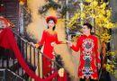 Tin tức - Dương Yến Nhung khoe nhan sắc rạng rỡ với áo dài trong MV Tết
