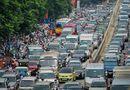 Tin tức - Cận Tết Nguyên đán, đường phố Hà Nội ùn tắc, chật cứng như nêm từ sáng tới chiều