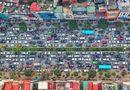 Tin trong nước - Đường phố Hà Nội ùn tắc kinh hoàng những ngày giáp tết
