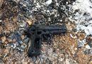 Pháp luật - Vụ cướp tiền tỷ ở trạm thu phí Long Thành - Dầu Giây: 2 nghi can đốt súng sau khi gây án