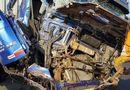 Tin trong nước - Tin tai nạn giao thông mới nhất ngày 27/2/2019: Đang cứu hộ trên cao tốc, tài xế container bị tông chết