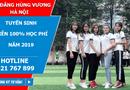 Giáo dục pháp luật - Cao đẳng Hùng Vương Hà Nội miễn 100% học phí năm 2019