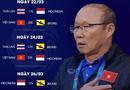 Bóng đá - Lịch thi đấu vòng loại U23 châu Á hôm nay 24/3: Việt Nam đấu Indonesia