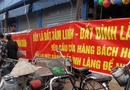 """Xã hội - Tranh chấp đất đai tại khu vực phố Dâu (Thuận Thành, Bắc Ninh): Dân nao núng vì huyện không """"tuân"""" tỉnh?"""
