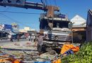 Tin trong nước - Tin tai nạn giao thông mới nhất ngày 10/4/2019: Xe tải lao vào quán nước mía, 5 người trọng thương
