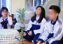 Xã hội - Long An: Sốc trước hình ảnh hơn 20 học sinh THCS hút shisha trong lớp