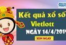Kinh doanh - Trực tiếp Kết quả xổ số Vietlott chủ nhật ngày 14/4/2019