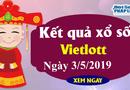 Kết quả xổ số Vietlott hôm nay, thứ Sáu ngày 3/5/2019