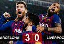 """Bóng đá - Bán kết Champions League: Liverpool bị Barcelona """"đè bẹp"""" với tỷ số 0-3"""