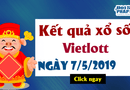 Kinh doanh - Trực tiếp Kết quả xổ số Vietlott thứ 3 ngày 7/5/2019