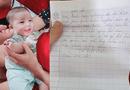Tin trong nước - Vụ mẹ gửi con 3 tháng tuổi cho người lạ rồi bỏ đi biệt tích: Hé lộ lá thư tay đẫm lệ