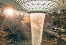 Xã hội - Mô hình sân bay công viên sinh thái Jawel Changi tại Singapore