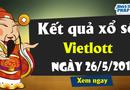 Kinh doanh - Kết quả xổ số Vietlott hôm nay 26/5/2019