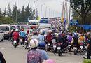 Tin trong nước - Cầu Rạch Miễu thường xuyên kẹt cứng vì sự cố giao thông