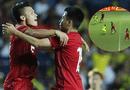 Bóng đá - FOX Sports nhận định về cú nhấc chân của Quang Hải giúp Đức Huy sút tung lưới Curacao