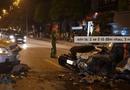 Tin trong nước - Sơn La: 2 xe ô tô đấu đầu nhau, 3 người bị thương nặng