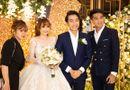 Tin tức giải trí - PewPew xuất hiện cùng bạn gái trong đám cưới Cris Phan – Mai Quỳnh Anh