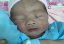 Tin trong nước - Phát hiện bé trai sơ sinh bị bỏ rơi, gào khóc trong bụi hoa giấy ven đường