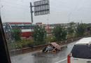 Tin trong nước - Xót xa cảnh chồng khóc ngất bên thi thể vợ bị tai nạn giao thông