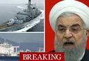 Tin thế giới - 5 tàu vũ trang Iran bao vây, bắt hụt tàu dầu Anh?