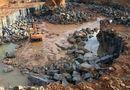 """Tin trong nước - Bình Phước: Phát hiện mỏ khai thác đá trái phép quy mô """"khủng"""""""